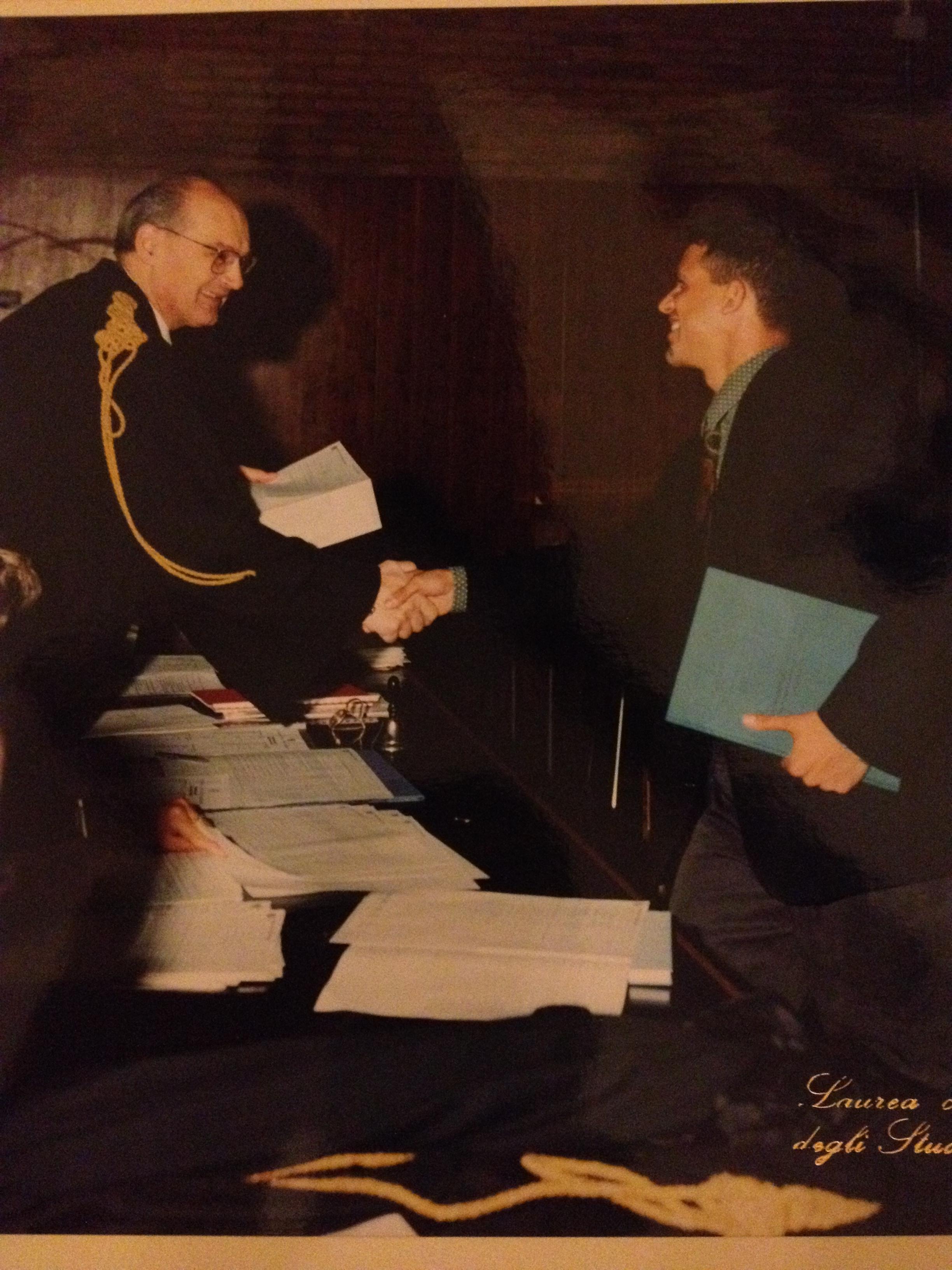 15 Ottobre 1993 - La mia laurea